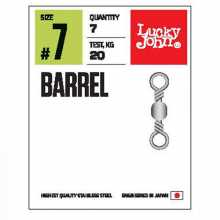 Вертлюги LUCKY JOHN LJ Pro Series BARREL 014 5 уп. по 10 шт