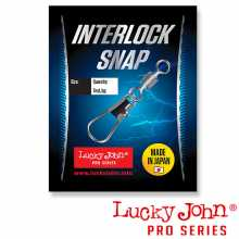 Вертлюги LUCKY JOHN c застежкой LJ Pro Series ROLLING AND INTERLOCK 004 7шт.