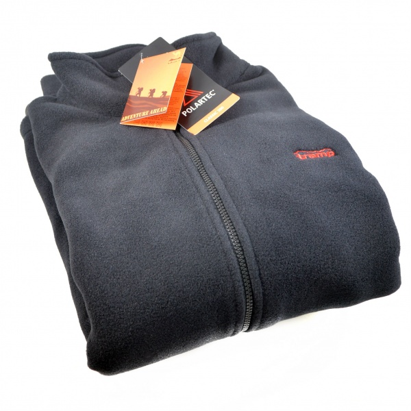 Куртка Outdoor Comfort Tramp, флис Polartec Classic 200, черный цвет